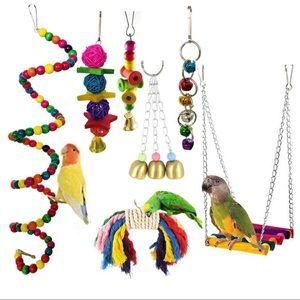 NWT Bird toys - 7 piece set